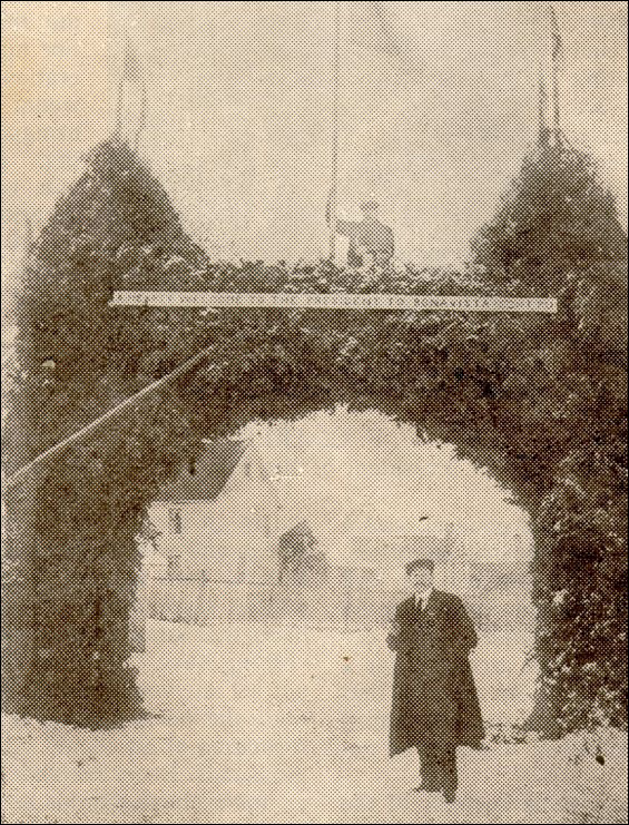 Arch at Bonavista, 1912 Convention.