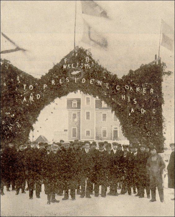 Bonavista Arch, 1912 Convention.