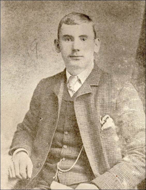 President Coaker at the age of 19.