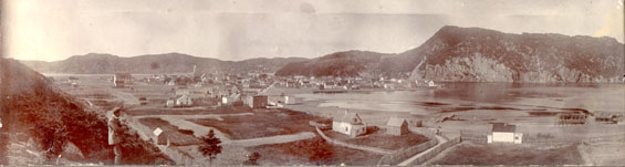 Panorama of Placentia taken from the south east