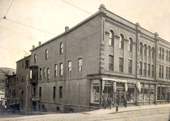 Royal Stores Ltd., MacPherson & Job Royal Stores Ltd., Water St., north side, St. John's