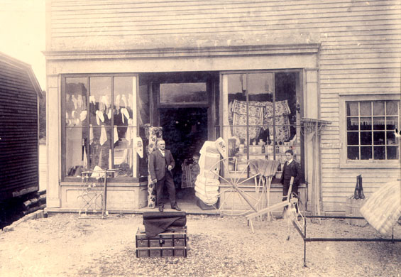Store front of the Royal Stores, Placentia