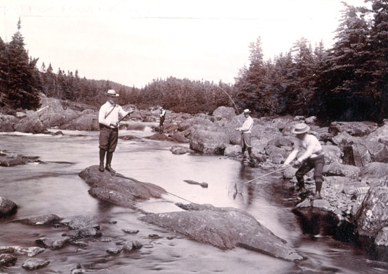 Fishing at South East River, Placentia