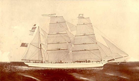 "Barque ""Charlotte Young"""