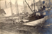 Vessels at dock, Job Brothers & Co. premises, north side, St. John's harbour