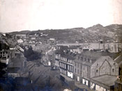 Water St., St. John's, looking east towards Signal Hill