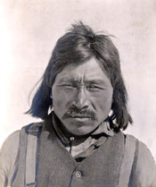 Esquimaux chief, Hudson Bay