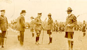 Sir Douglas Haig inspecting troops, headquarters of the Great War Veterans Association