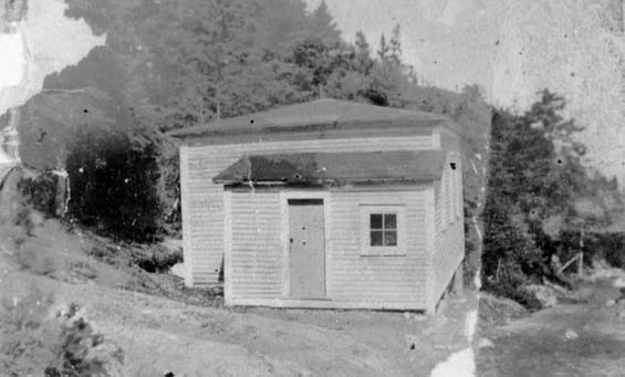 The Methodist School in the Gulch, Haystack, Placentia Bay, Newfoundland