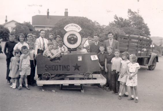 Fred V. Chesman Ltd. parade float