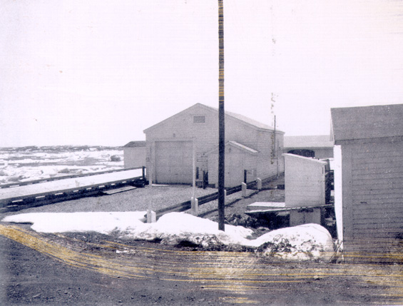 The government wharf at St. Lunaire, Great Northern Peninsula, Newfoundland