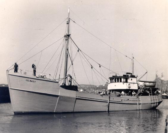 The fishing vessel