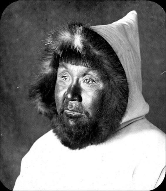 Unidentified Indigenous man
