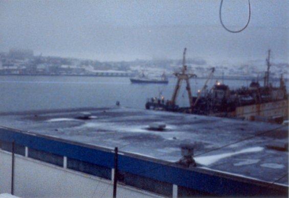 The stern trawler
