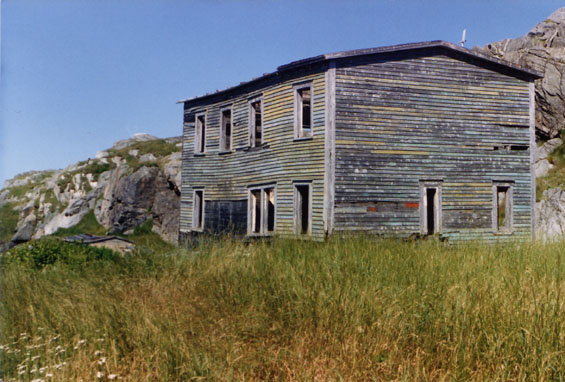 Pass Island, Fortune Bay, Newfoundland, house of Charles and Susan Piercey