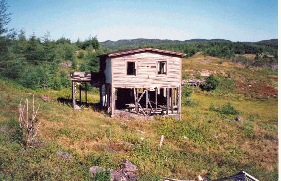 Jessie Marsh house, Deer Harbour, Trinity Bay, Newfoundland