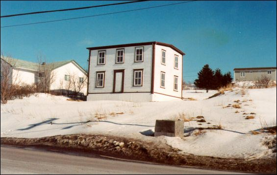 Frank Drake house, Arnold's Cove, moved from Haystack