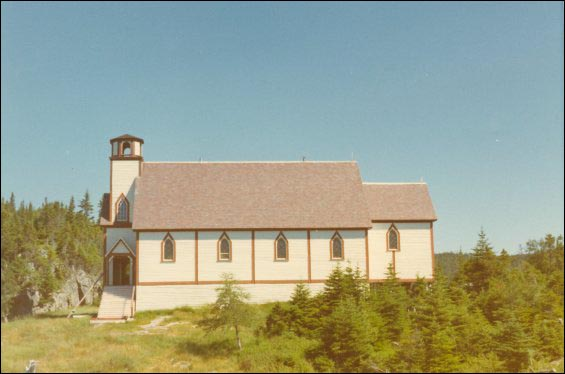 St. Augustine's Anglican Church, British Harbour