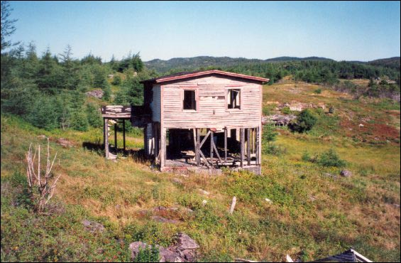 Jessie Marsh house abandoned at Deer Harbour