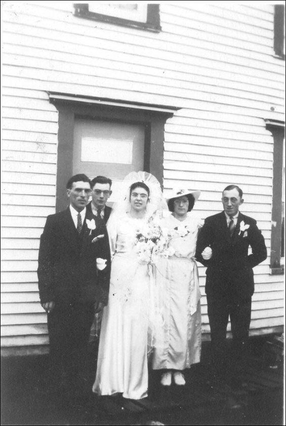 Mariage de Marshall Brown et d'Anita Wicks à Fair Island