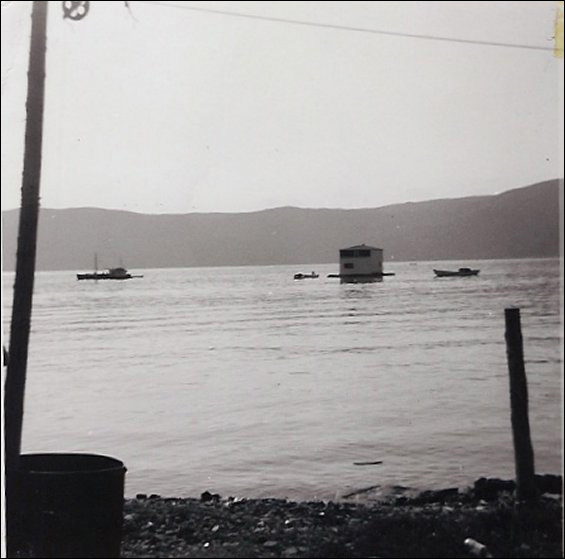 Floating Mike and Hilda Symmonds house from NE Crouse to Conche