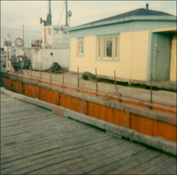 Stanley Keeping House On The Barge Tied Up At Garnish