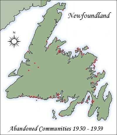 Introduction - Newfoundland map