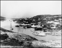 View of Battle Harbour