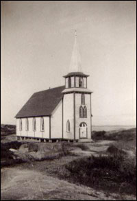 Bragg's Island church
