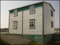 House of Albert Cluett, Sr. in Tilting, Fogo Island, 2006