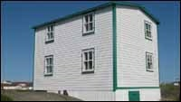 House of Albert Cluett, Sr. in Tilting, Fogo Island, 2009