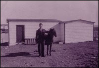Regina, Colinet Island, (pictured) Gus Dalton and horse Dandy