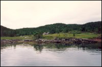 Deer Harbour, many years after resettlement