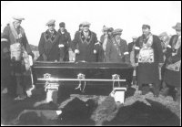 Edwin Noseworthy's funeral on Fair Island