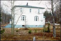 Percy Pickett house, Centreville - House was moved from Fair Island to Centreville in 1961