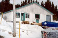Jessie Randell's General Store, Bide Arm [General Store was moved from Hooping   Harbour to Bide Arm in 1969.]