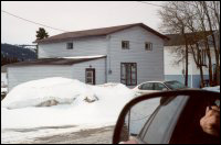 Ronald and Betty Randell house, Bide Arm [House was moved from Hooping Harbour to Bide Arm in 1969.]